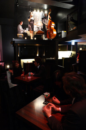 JAZZ LOUNGE en COUNTER 赤坂