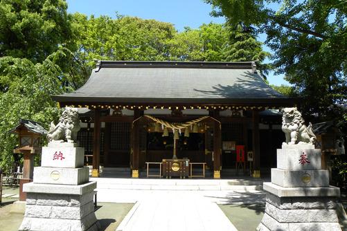 「新田神社(東京都大田区矢口1-21-23)」の画像検索結果